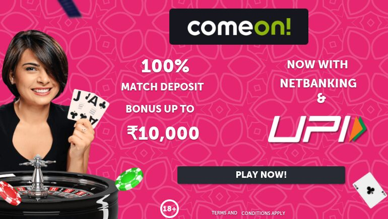 ComeOn Casino Opens its Doors to Indian Players