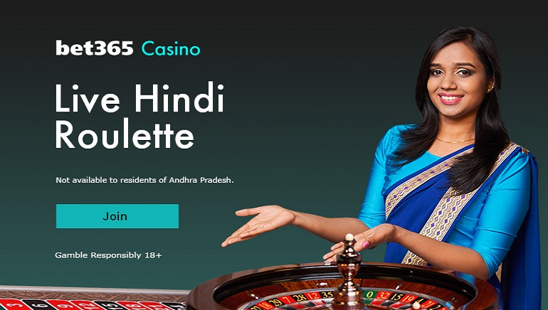 Bet365 Casino - Play Live Hindi Roulette - 18+