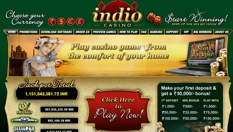 Big Welcome Bonuses and Promotions at Indio Casino