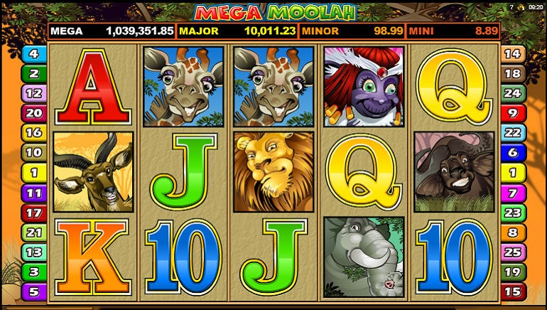 Grand Mondial Casino Celebrates Mega Moolah Jackpot Win!