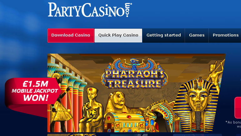 Massive Jackpot Opportunities at Party Casino