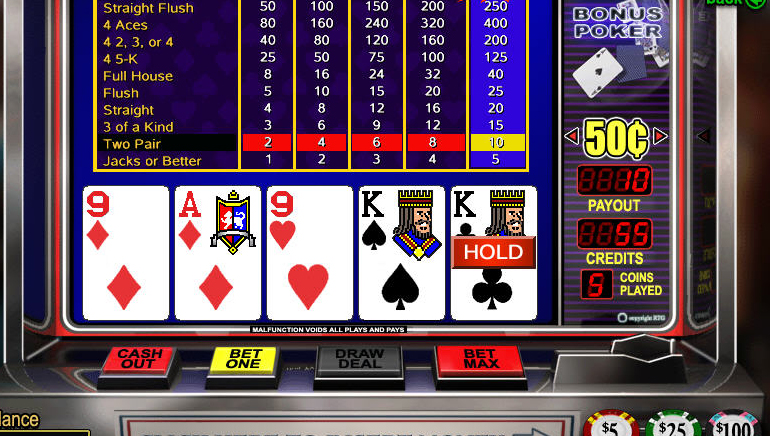 Video poker free games anthony cruz poker