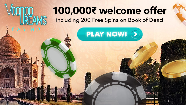 Voodoo Dreams Welcomes You With INR 100,000 & 200 Free Spins