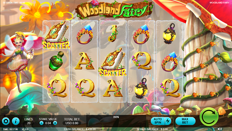 Videoslots Casino Adds Woodland Fairy Slot from Rocksalt Interactive